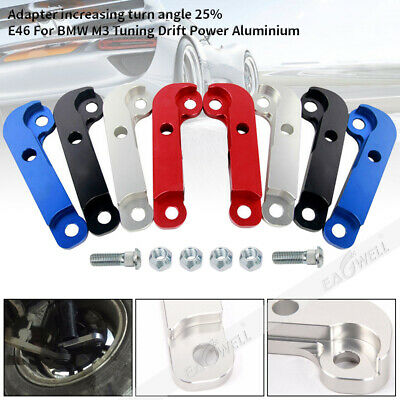 For BMW E46 M3 Aluminium Adapter Increasing Turn Angles About 25% Drift Lock Kit