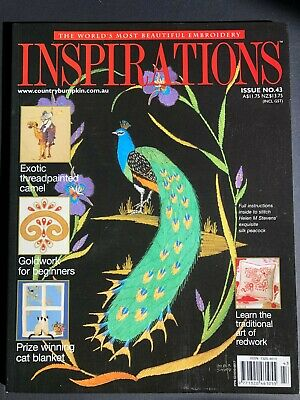 Inspirations Magazine Issue 43, 2004. Pattern sheets still attached.