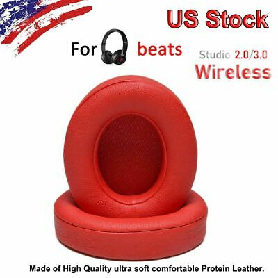 2 Replacement Ear Pads Cushion for Beats by dr dre Studio 2.0 Headphone RED US