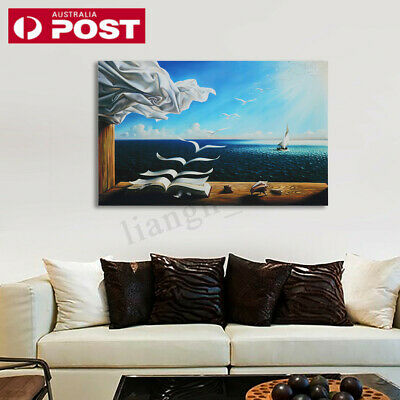 Modern Sea Canvas Print Painting Poster Wall Art Unframed Picture Home Decor AU
