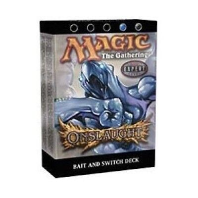 Magic the Gathering MTG Onslaught Bait and Switch Theme Deck