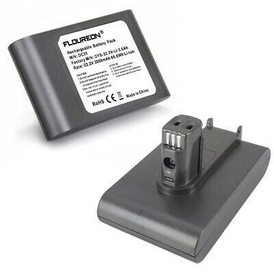 FLOUREON 22.2V 3000mAh DC31 Battery Pack 6-Cell For Dyson DC31 DC34 DC35 Series