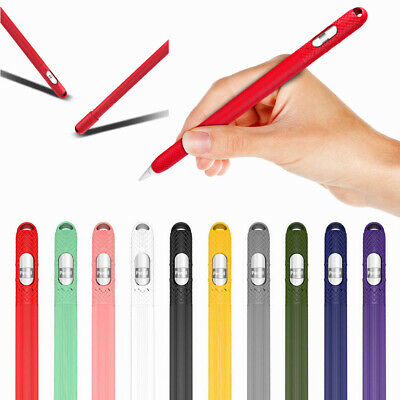 For Apple Pencil iPad Pro Silicone Pencil Case Cover Holder Protective Sleeve