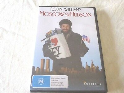 Moscow On The Hudson (DVD, 2013) Region 4 BRAND NEW SEALED Robin Williams