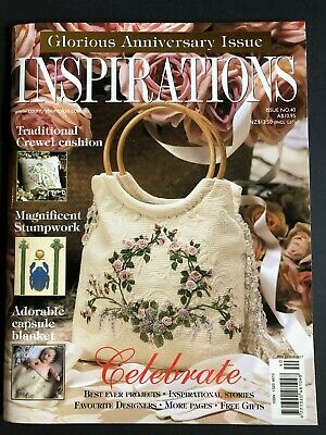 Inspirations Magazine Issue 40. Pattern sheets still attached.