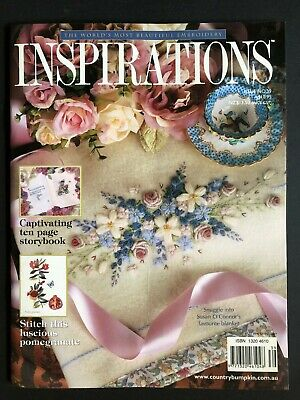 Inspirations Magazine Issue 39. Pattern sheets still attached. Rare