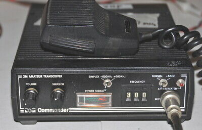 "Vintage Dick Smith ""COMMANDER"" VHF (2-Metre) Ham Radio Transceiver Kit. #1"