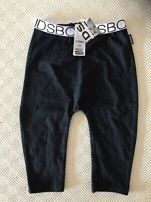 Bonds Baby Black Leggings 0 (6-12 Months) BRAND NEW WITH TAGS