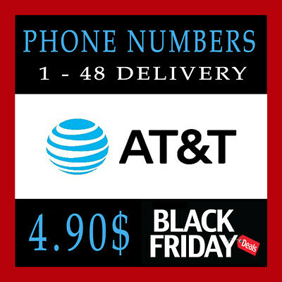 AT&T | Numbers to Port | Any Area Code | ATT | Phone Numbers for Port|1 - 48 hrs
