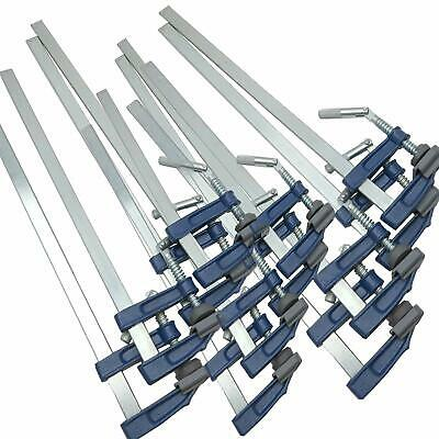 """12pc Brick Profile F Clamps Wood Clamp 12""""- 300 x 50mm"""