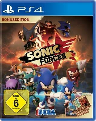 Sonic Forces Bonus Edition (PlayStation PS4) DVD-ROM Deutsch 2017