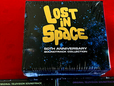 Irwin Allen's LOST IN SPACE 50th Annversary Soundtrack Collection CD BOX! OOP!