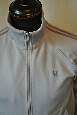 Vintage kids Fred Perry violet jacket to size 12yrs retro casual sport tennis