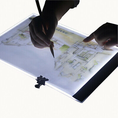 A4 led drawing tablet thin art stencil drawing board lightbox tracingtable padXM