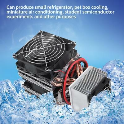 12V Semiconductor Cooler Refrigeration Air Cooling Device System Mini Fridge JS