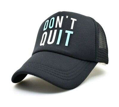 DONT QUIT Keep Muscle Baseball Cap Bodybuilding Sun Hat Hip Hop Summer Funny