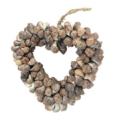 Shell  Love heart  wall hanging assorted shell