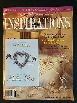 Inspirations Magazine Issue 16, 1997. Pattern sheets still attached.