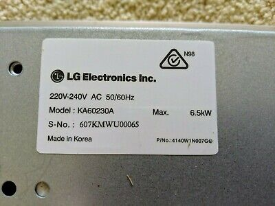 LG Ceramic Glass Cooktop in great condition. Current model KA60230A