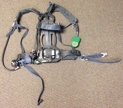 Survivair PANTHER/SIGMA HIGH PRESSURE SCBA Back Pack NFPA 1997 ED 962600 COMPASS