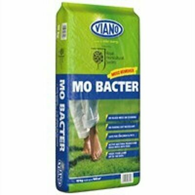Viano MO Bacter Organic Lawn Fertiliser and Moss Killer 10kg