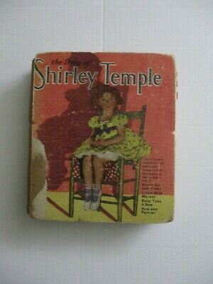 The Story of Shirley Temple (1934) Little Hardback Book