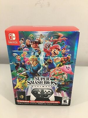Super Smash Bros Ultimate Special Edition - Nintendo Switch - Brand New/Unopened