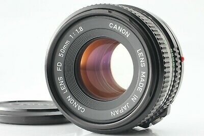【Near Mint+】Canon New FD NFD 50mm f/1.8  MF Lens from Japan #368A