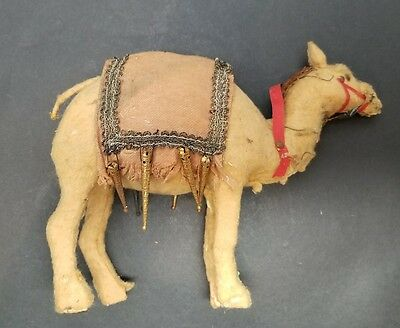Antique German Camel Decorated Pull Toy Circa 1880s RARE (No Platform)