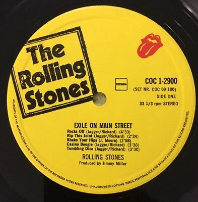 The Rolling Stones - Rare Exile on main street -2LP - Holland -1978 !!!!!!