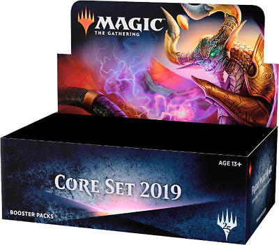 MTG Core Set 2019 M19 Booster Box - Factory Sealed - FREE Priority Shipping!