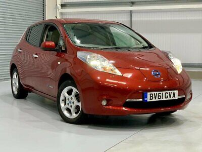 Nissan Leaf 24kW Metallic Red, Battery is owned, Superb Condition, 52K miles
