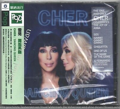 Cher: Dancing Queen (2018) Abba / TAIWAN OBI CD SEALED