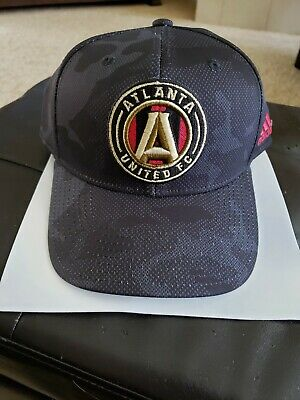 8c2924c1bf122 Atlanta United FC Adidas Structured Snapback Hat Cap New With Tags MLS  CHAMPS