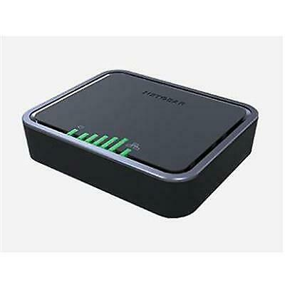 Netgear LB1121 Cellular Modem/Wireless Router - 4G - LTE, UMTS, HSPA+ - 150 - 1