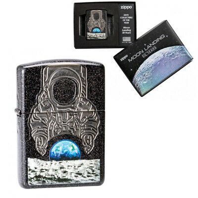 Zippo Moon Landing 2019 Collectable of the Year Lighter - 50 Years anniversary