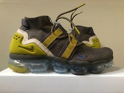 Nike Air Vapormax Flyknit Utility Ridgerock Moss 9-9.5 AH6834-200 100% Authentic