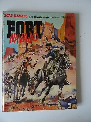 Blueberry T1  Fort Navajo  Giraud/Charlier Dargaud 1974