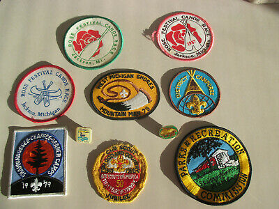 Lot of 250 Assorted Vintage Patches Sports Business Travel Schools Random New