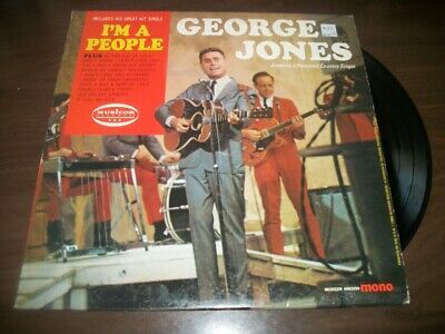 George Jones I'm A People, Don't Think I Love You, Ship Of Love, If You Believe