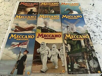 LOT 9 Magazines MECCANO 1942