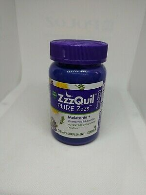 (New) Vicks ZzzQuil Nighttime Sleep-Aid, 48 gummies, Wildberry Vanilla 10/20