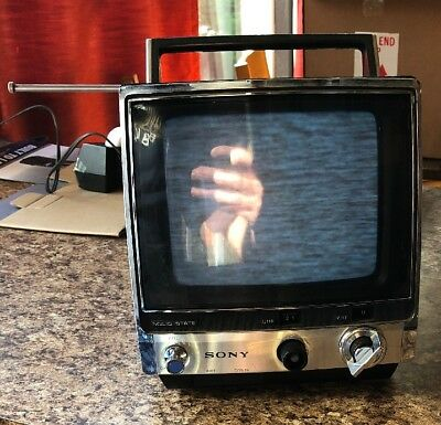 Vintage Sony Solid State Television Model TV-760 Made in Japan *TESTED* 1975