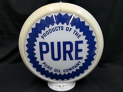 Pure Products Of The Pure Oil Company Gas Pump Sign Reproduction