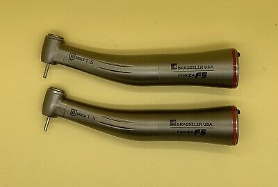 NSK, Brasseler F5/X95L Electric 1:5 High Speed Dental Handpiece. 2 pcs. Genuine.