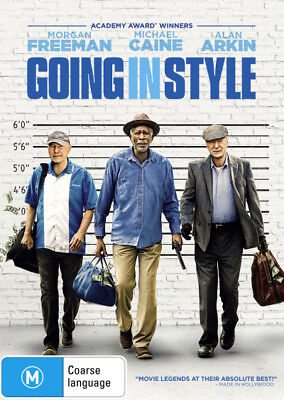 Going in Style - DVD (NEW & SEALED)