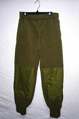 CANADIAN ARMY FLEECE PANTS - Size 70/34 - WINTER EXTREME COLD -