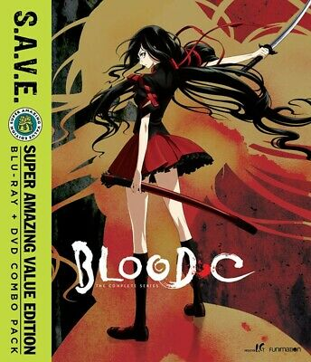 Blood-C The Complete Series S.A.V.E. Blu-ray