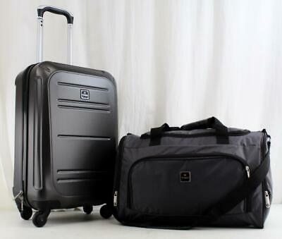 Tag Vector Ii 2 Piece Hardside Spinner Carry On Luggage Set Charcoal 3