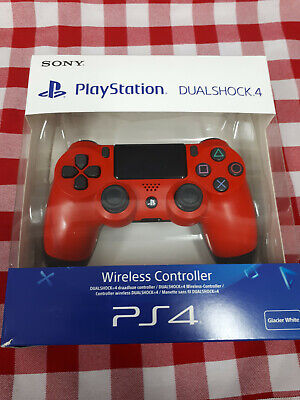 Sony PS4 DualShock 4 Wireless Controller OFFICIAL V2 red boxed